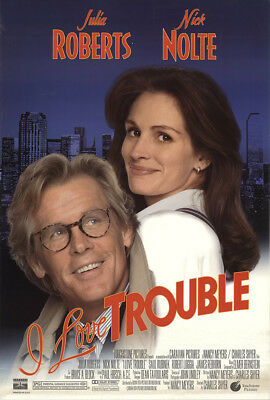 I Love Trouble 1994 27x41 Orig Movie Poster FFF-51187 Rolled Nick Nolte