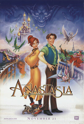Anastasia 1997 27x41 Orig Movie Poster FFF-51319 Rolled Christopher Lloyd