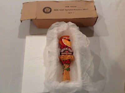 """Shock Top Raspberry Wheat Beer Tap Handle 8"""" Tall - Brand New in Box"""