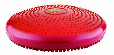 GoFit Unisex Core Balance Disk, Red, 13 x 13 x 3.5-inch