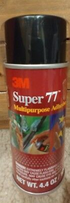 3M Super 77 Multi-Purpose Spray Adhesive 4.4-Ounce Project Mounting Craft Glue