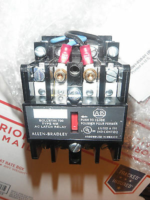 Allen Bradley 700-NM200A1 Latch Relay Series E