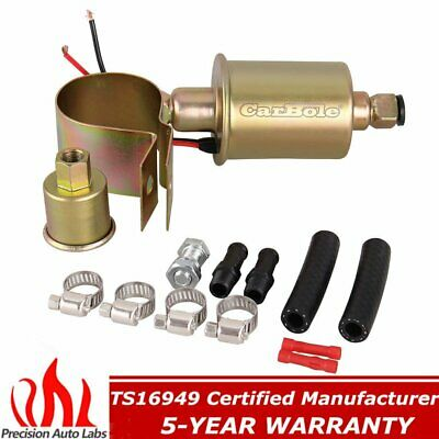 Universal 12V 5-9psi Automotive Electric Fuel Pump Kit 30 Gallon Per Hour E8012S