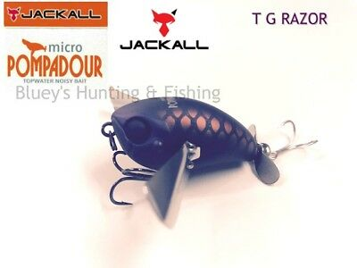 Jackall Micro Pompadour floating topwater 6.5g Bass bait lure; T.G.RAZOR