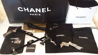 chanel clothes hangers dust bags packaging paper bags wrapping paper box