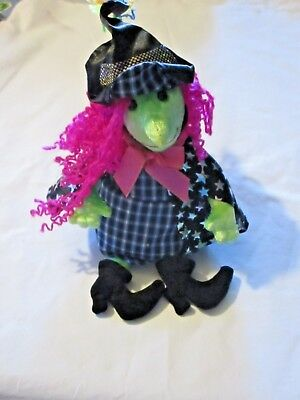 Ty Beanie Baby Plush Doll Scary Witch Halloween 2001 Disco Stars