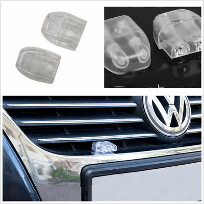 2x Transparent 2 Holes Safety For Driver Car Sonic Deer And Animal Whistle Alert