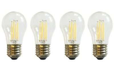 (4)-Replacement for 40W A15 Light Bulb GE GTS17JBWERWW Top Freezer Refrigerator