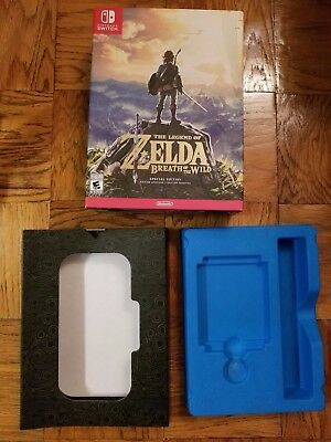 Legend of Zelda: Breath of The Wild Special Edition BOX ONLY(Nintendo Switch)
