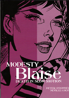 Modesty Blaise Death In Slow Motion O'Donnell Colvin Titan Books First Edition