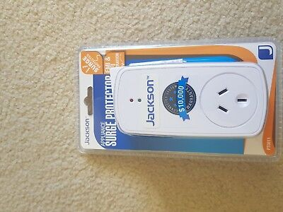 Jackson Appliance Surge Protector - White   (99)