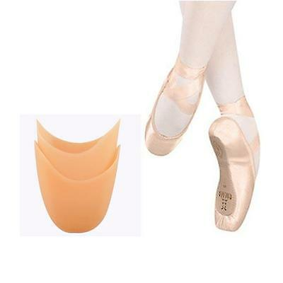 2X Silicone Gel Pointe Ballet Dance Practice Foot  Toe Care Protector Soft Pads