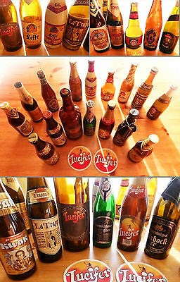 Collection of 16 Bottles of BEER- vintage '90s