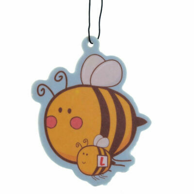 Novelty Air Freshener Honey Bee, Honey Scented, Car, Home, Office