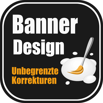 BANNER DESIGN ★ Flyer-Design ★ Werbebanner Facebook Youtube Marketing