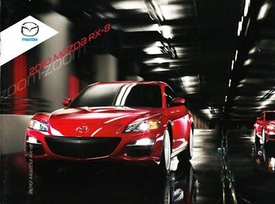2010 10 Mazda RX8 RX-8 Original sales brochure MINT