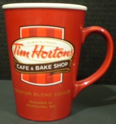 Tim Hortons Mug Cafe and Bake Shop Red Limited Edition 2011