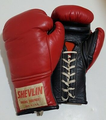 Original Shevlin Made in the USA Boxing Gloves 16oz not Grant, Reyes or Winning