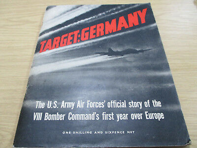 A Pre-owned Vintage (c1944) 'Target Germany' WWII Booklet.