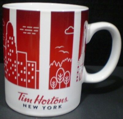 Tim Hortons Mug Traveler's Collection Series 1 New York 2016