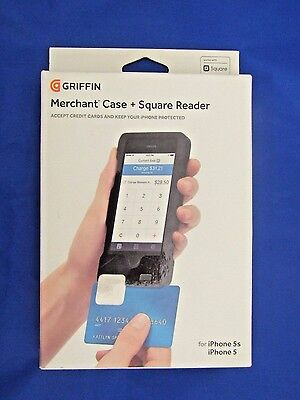 Griffin Merchant Case and Square Credit Card Reader for iPhone 5 and 5s