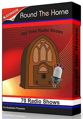 ROUND THE HORNE 70 OLD TIME RADIO SHOWS - Serials Audio Books MP3 CD