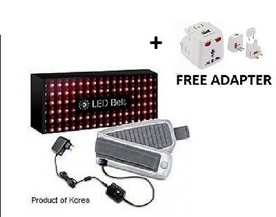 LED Light Therapy Device Belt Red Infrared Relief Back Muscle Pain Healing Car