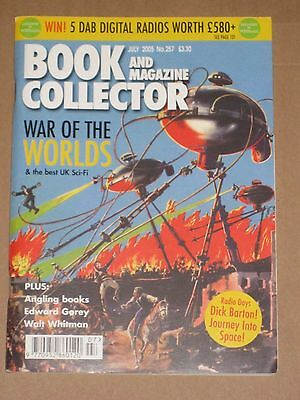 BOOK & MAGAZINE COLLECTOR MAGAZINE #257 July 2005 Sci-Fi Special War of Worlds