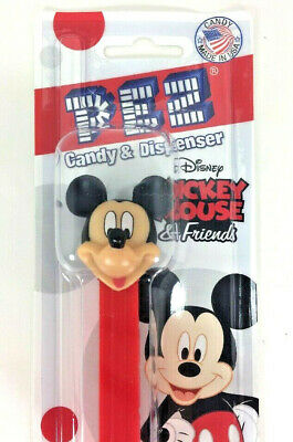 NEW PEZ Dispenser Disney MICKEY MOUSE and Friends Candy Orange Lemon Strawberry