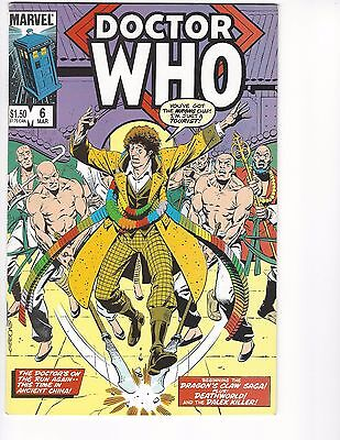 Doctor Who comic lot #6 7 8 VF/NM (1985, Marvel)  Bagged & Boarded