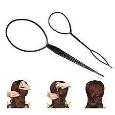 2pcs Hair Braid Ponytail Maker Styling Tool