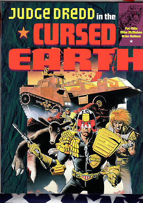 Collected JUDGE DREDD in the CURSED EARTH Mills McMahon Bolland Titan Books 1994