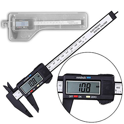 "Digital Electronic Gauge plastic materia Caliper Micrometer 0-150 mm 0-6"" Lcd"