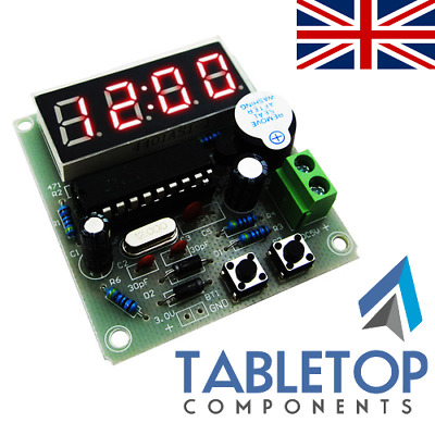 DIY High Quality C51 4 Bits Electronic Clock Electronic Kit Optional Solder