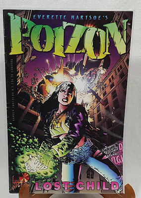 London Night Poizon Lost Child Vol. 1 #2 1996 FREE Protective Bag