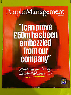 Pm People Management Mag Dec 2012 Whistleblower Flexible Working Fraudulent Cv