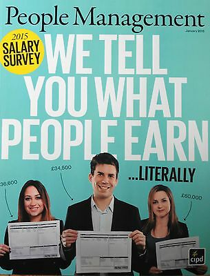 *new* People Management Hr Magazine January 2015 Hr & L&d Salary Survey Hr Idea