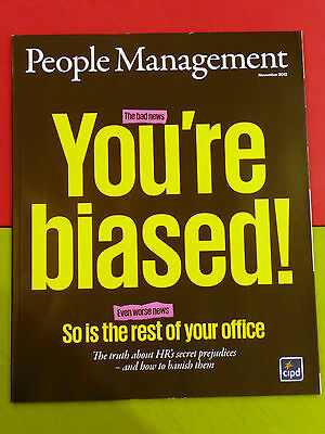 Pm People Management Mag Nov 2012 Hr Prejudice Twitter Change Motivation