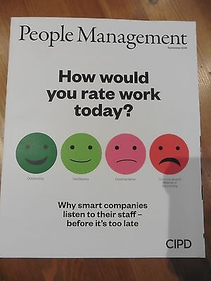 New People Management Hr Mag Sept 2016 Listen To Employees Apprenticeship Levy
