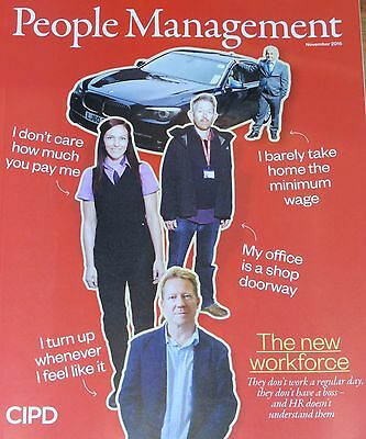 *new* People Management Hr Magazine Nov 2015 Understanding The New  Workforce