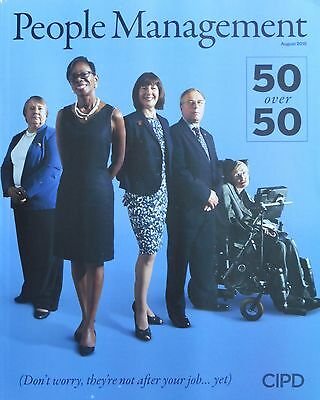 *new* People Management Hr Magazine August 2015 Age-Diversity Issue Carers