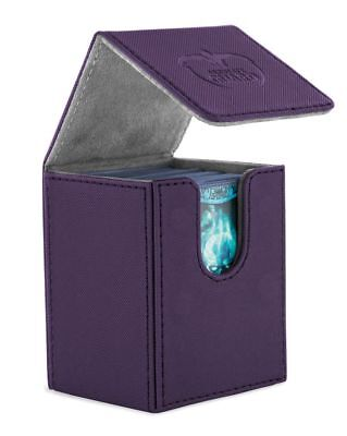 Ultimate Guard - Flip Deck Case XenoSkin 100+ Purple - Karten Boxen Gaming Boxen