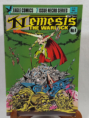 Eagle Comics Nemesis The Warlock 4 Dec. 1984 FREE Protective Bag