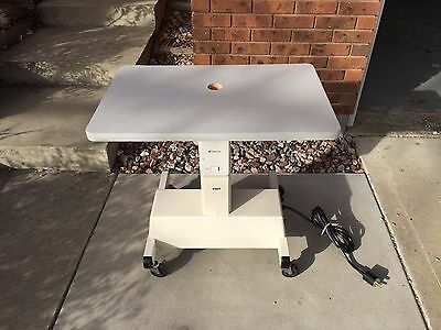 Topcon AIT-10B - Electric Instrument Table 28 1/2 in X 19in LOCAL PICKUP ONLY