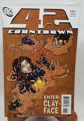DC Comics Countdown 42 Enter: Clay - Face July 2007