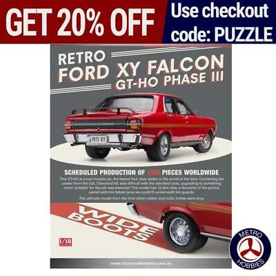 Classic Carlectables 1/18 Retro Ford XY Falcon GT-HO Phase III 18636 Brand New