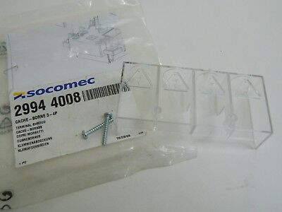 Socomec 22944008 3-4 Pole Terminal Shield SIRCO M 63-80A switch bodies