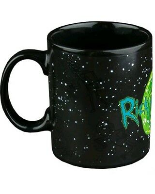Rick and Morty In The Stars Heat Changing Mug Collectable Gift Geek