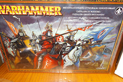 Bretonnian Realm Errant Knights Warhammer Fantasy As New AoS Order Sealed New