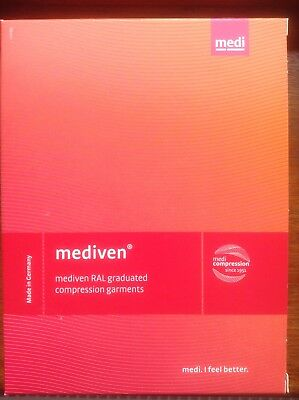 Medi Mediven for Men Class 1 Below-knee Compression Socks Grey Size IV Petite